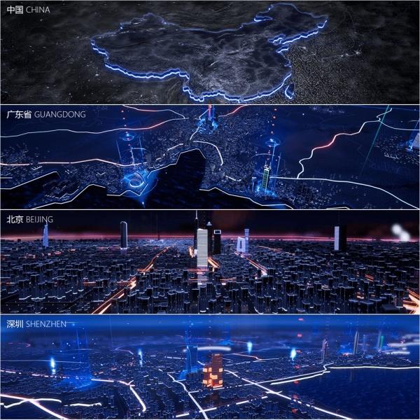 街道3d地图素材
