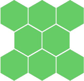 蜂巢形底纹矢量图