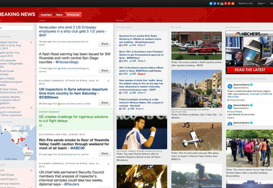设计新闻类网站需要注意的关键点:移动友好,宽带