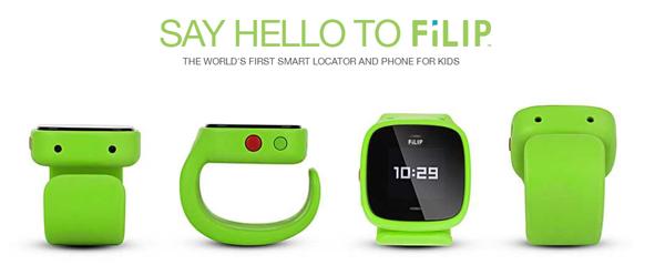 儿童智能手表filip:家长可实时监控孩子