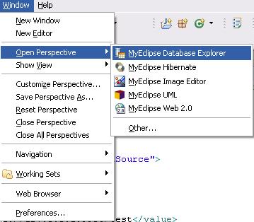使用myeclipse集成struts,hibernate,spring的一个示例程序 - christhb - 我的博客