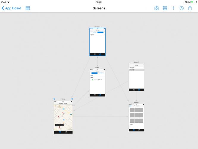 app原型设计工具使用心得