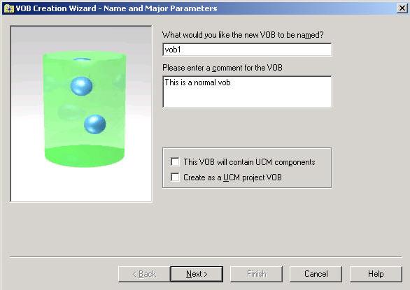 Fig1.1 创建VOB向导