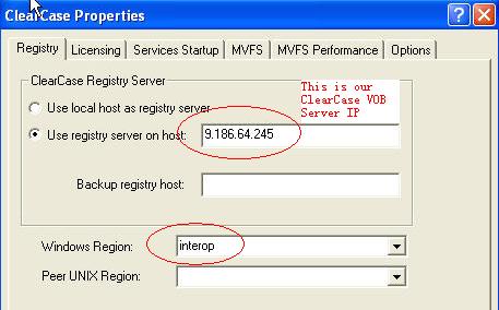 Fig1.4 指向Registry Server并同步Region信息